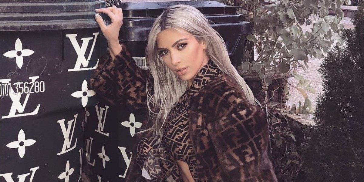 Critican foto de Kim Kardashian con su hija North West
