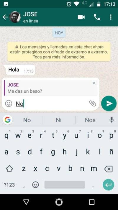 Leer mensajes eliminados de WhatsApp andro4all.com