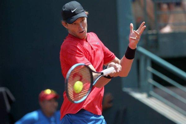 Nicolás Jarry entró por primera vez de manera directa a un ATP 500 / Foto: Photosport