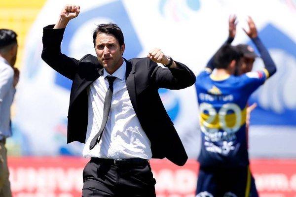 Beñat San José registra rendimiento en los partidos oficiales que lleva en la UC / Foto: Photosport