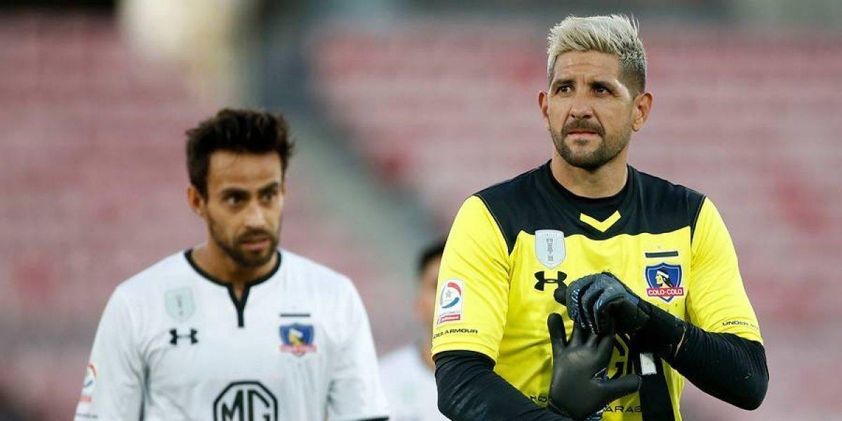 La maldición de la camiseta amarilla en Agustín Orión: La volvió a utilizar en un partido oficial y Colo Colo perdió