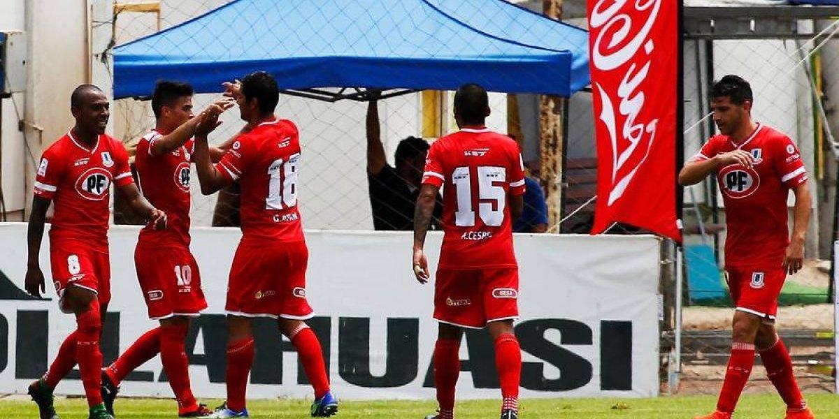 Unión La Calera vuelve a ganar de visita y superó a Deportes Iquique en Cavancha