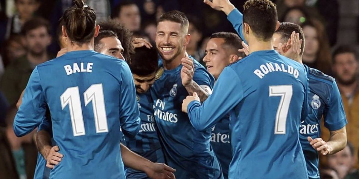 El Madrid derrota al Betis y mantiene la buena racha