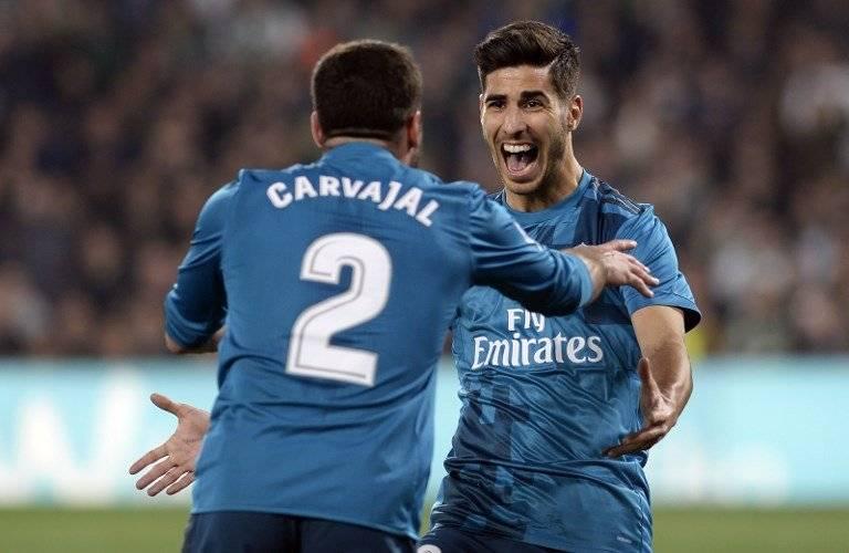 Gol del Real Madrid contra el Betis