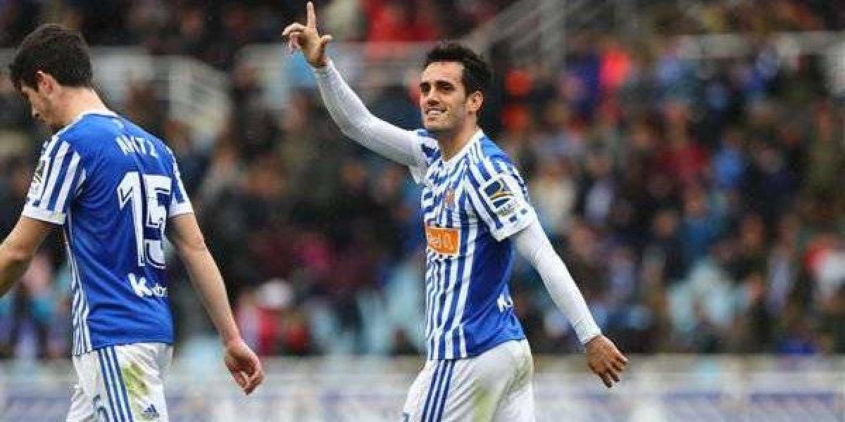 Moreno ausente en la victoria de la Real Sociedad