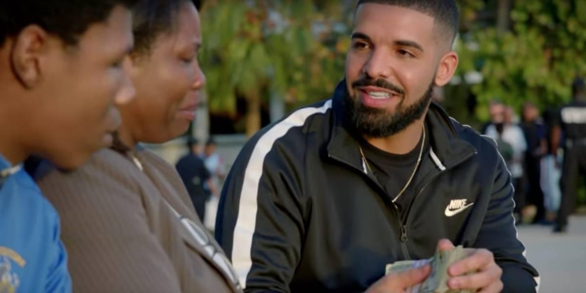 Drake dona $1,000,000 a personas necesitadas en Miami