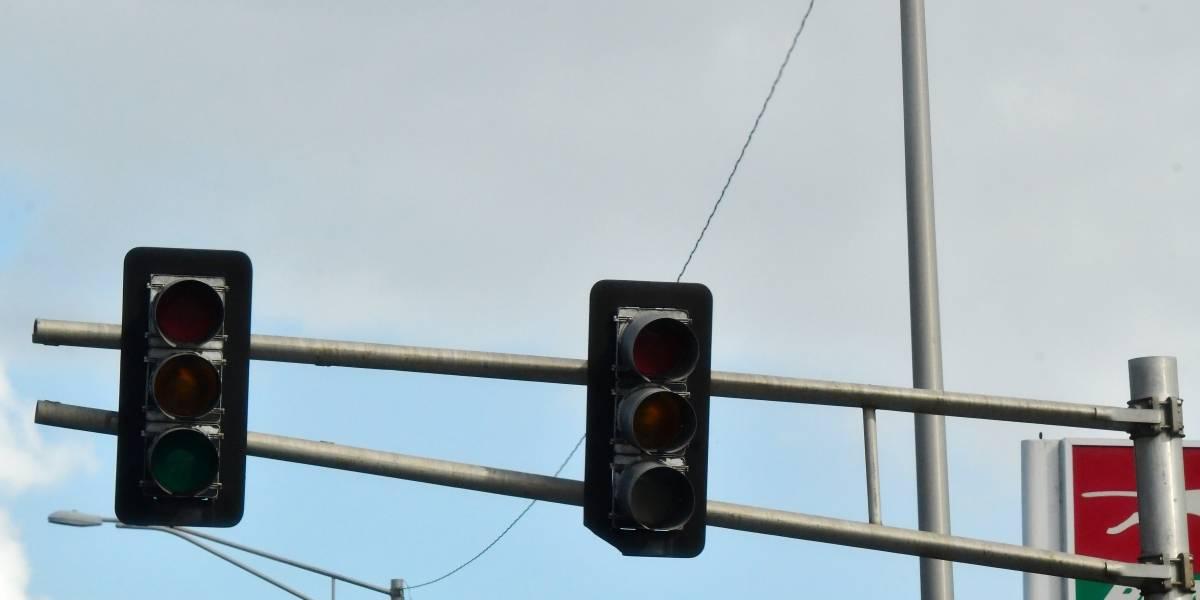 DTOP informa 80% de los semáforos ya están funcionando