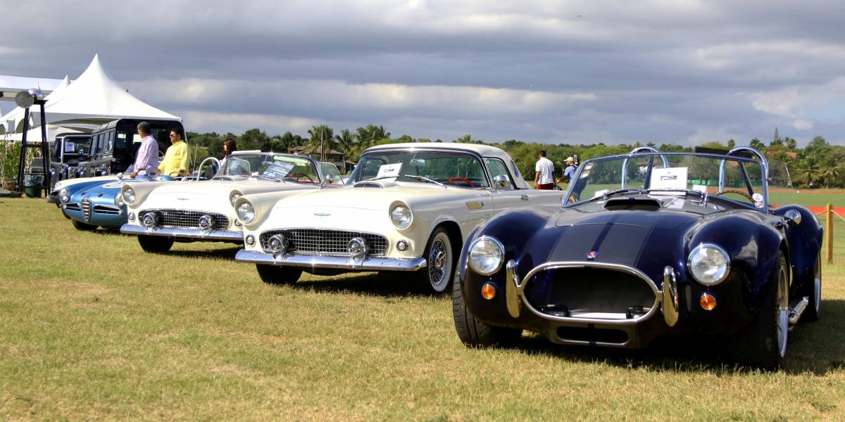 Regresa al país la exposición de autos clásicos  Concours D'Elegance
