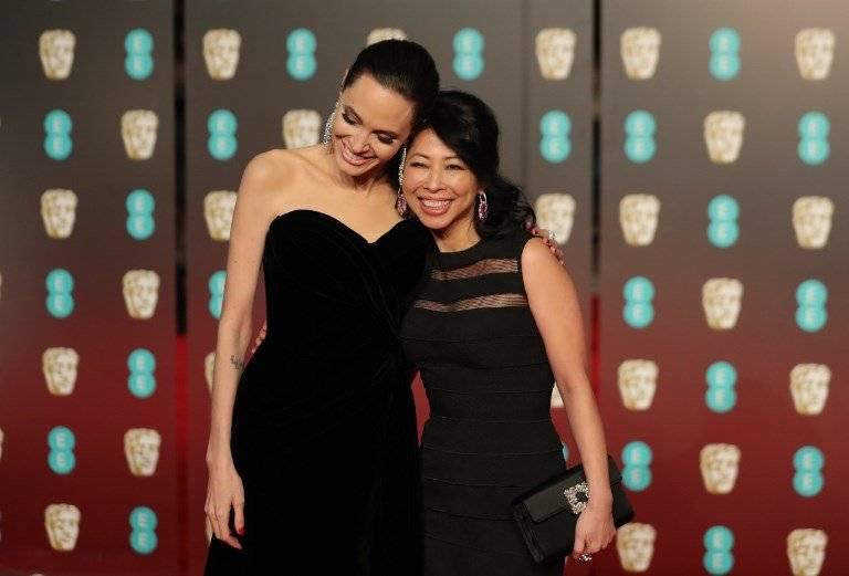 Angelina Jolie BAFTA 2018 Fotos: AFP
