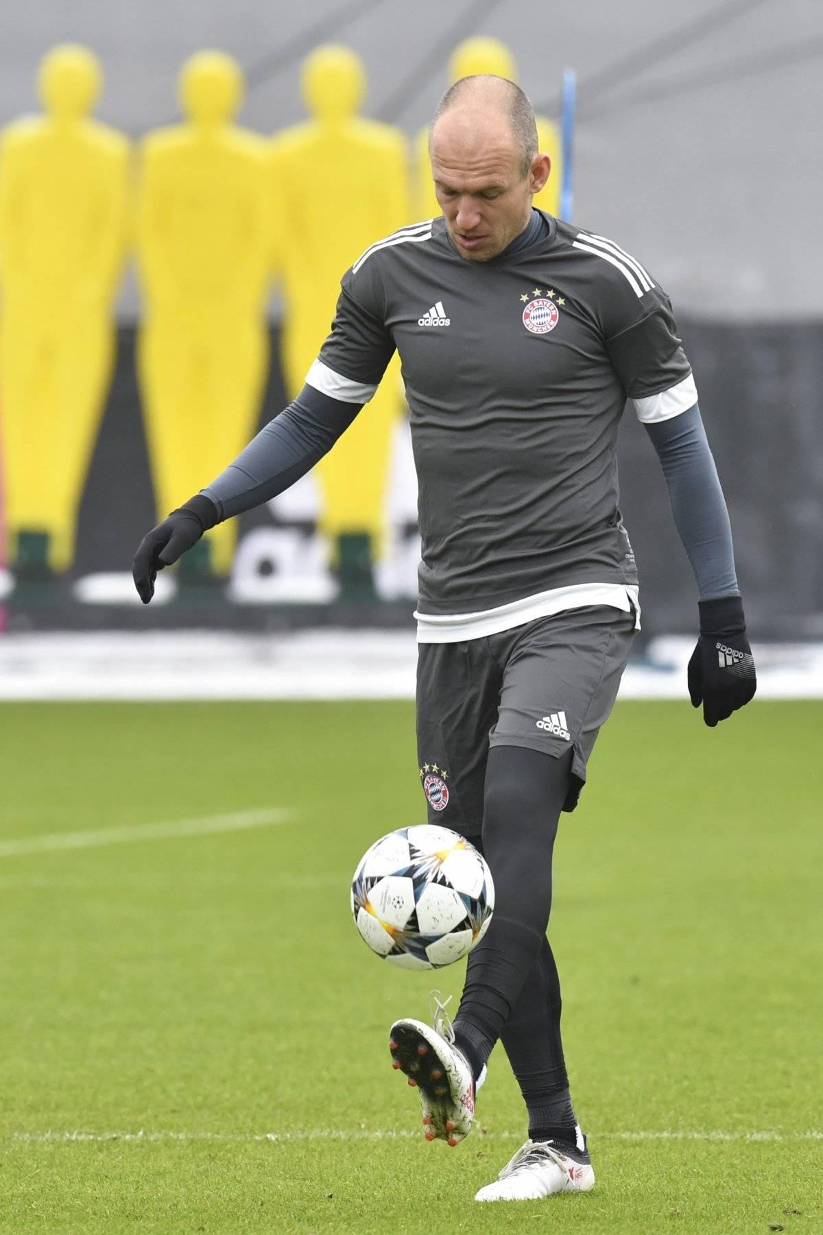 Arjen Robben es una de las piezas claves del equipo alemán.