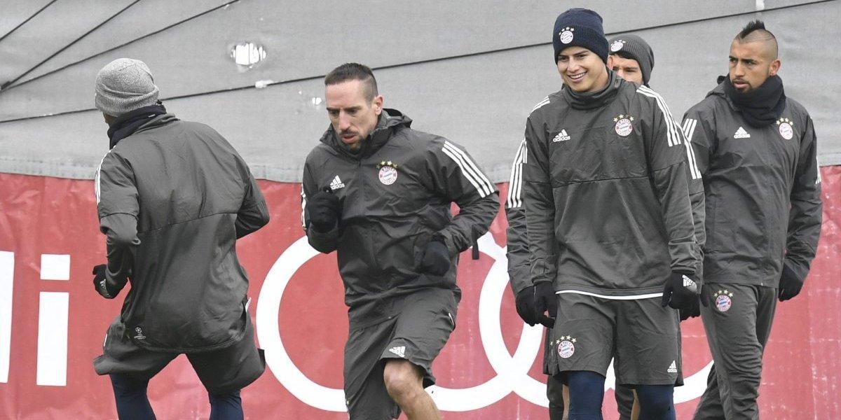 El Bayern de Múnich parte como favorito para enfrentar al Besiktas