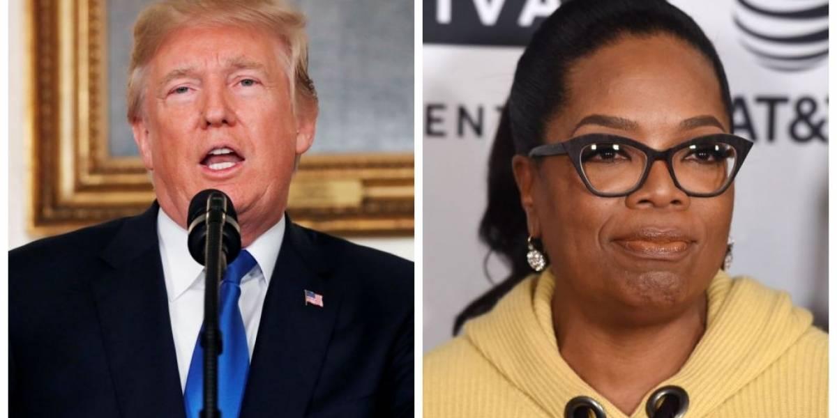 Trump critica participação de Oprah em programa de TV e diz esperar que ela dispute eleição presidencial