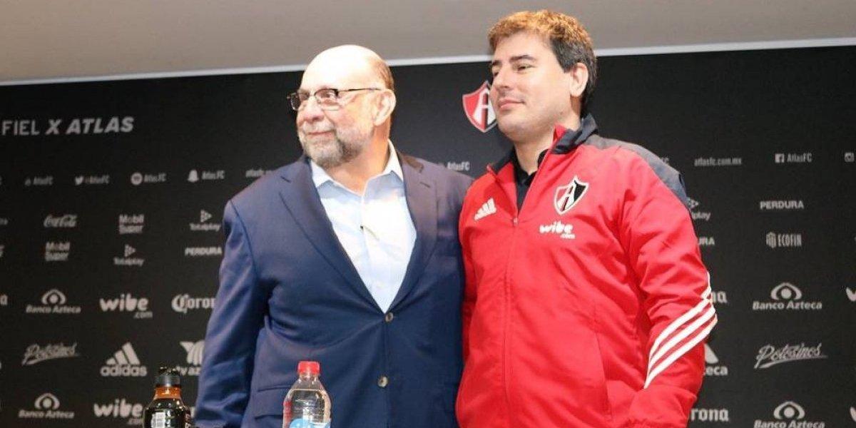 Atlas tiene nuevo director deportivo, el uruguayo Fabricio Bassa