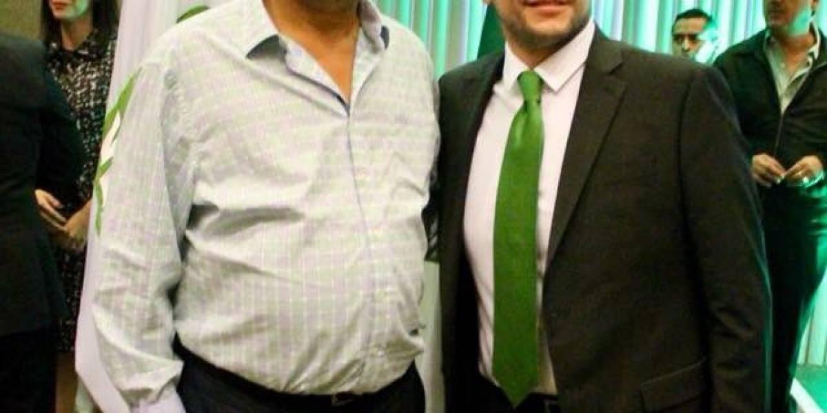 Salvado Cosío Gaona buscará la gubernatura... con el Partido Verde