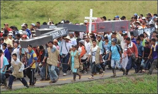 Resultado de imagen para colombia masacre de indigenas