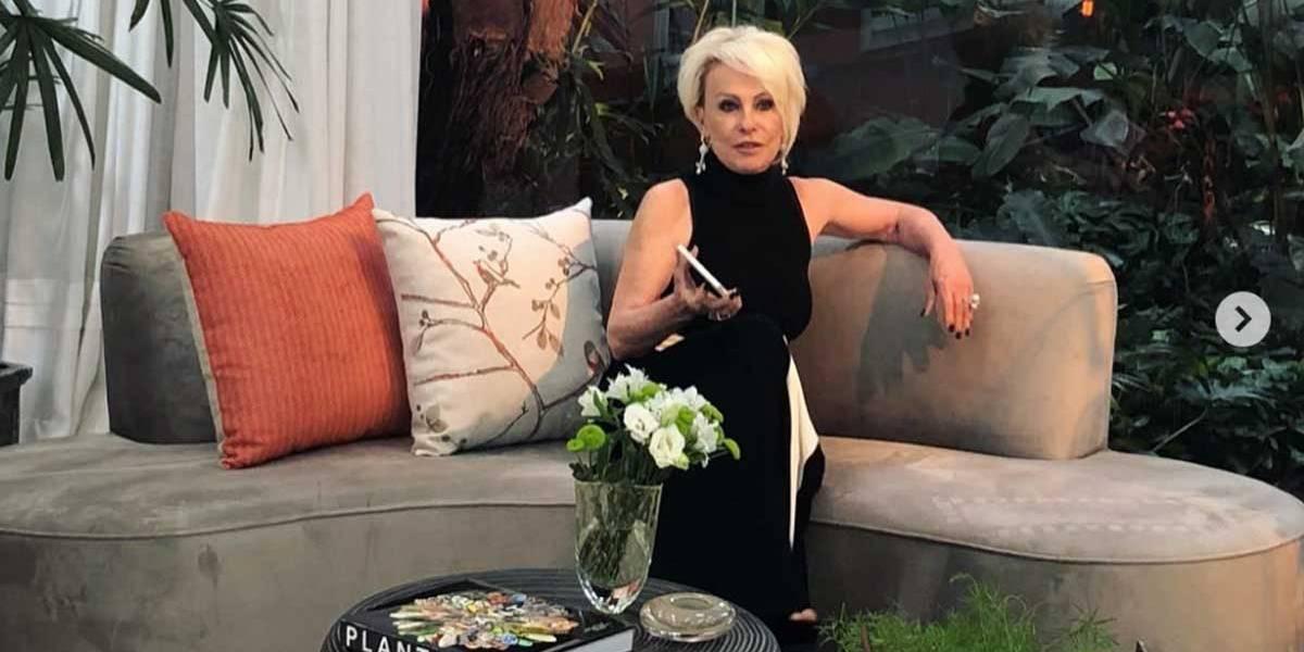 Ops! Ana Maria Braga manda parabéns para ator morto há cinco meses