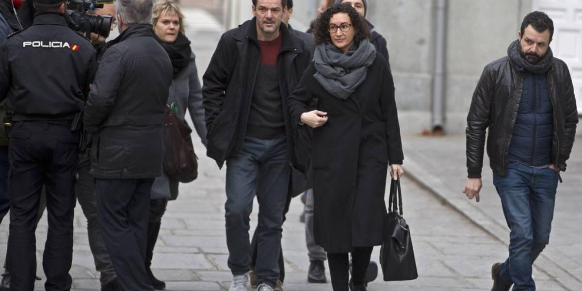 España: líderes catalanas declaran en caso de secesión