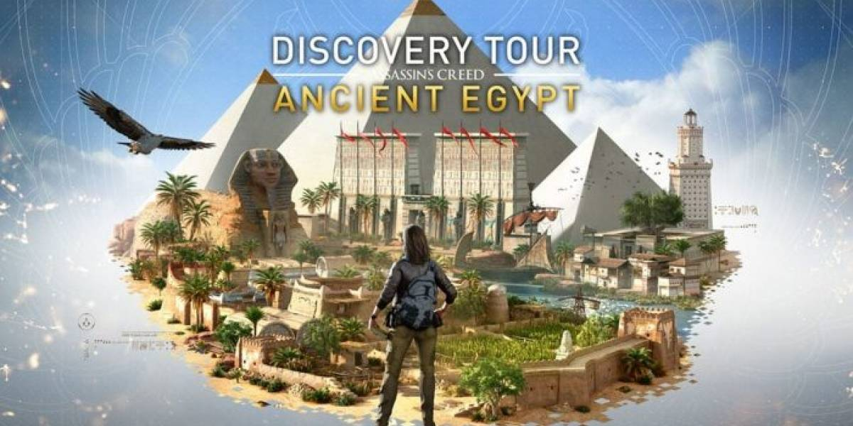 El modo Descubrimiento de Assassin's Creed Origins mostrará la historia de Egipto