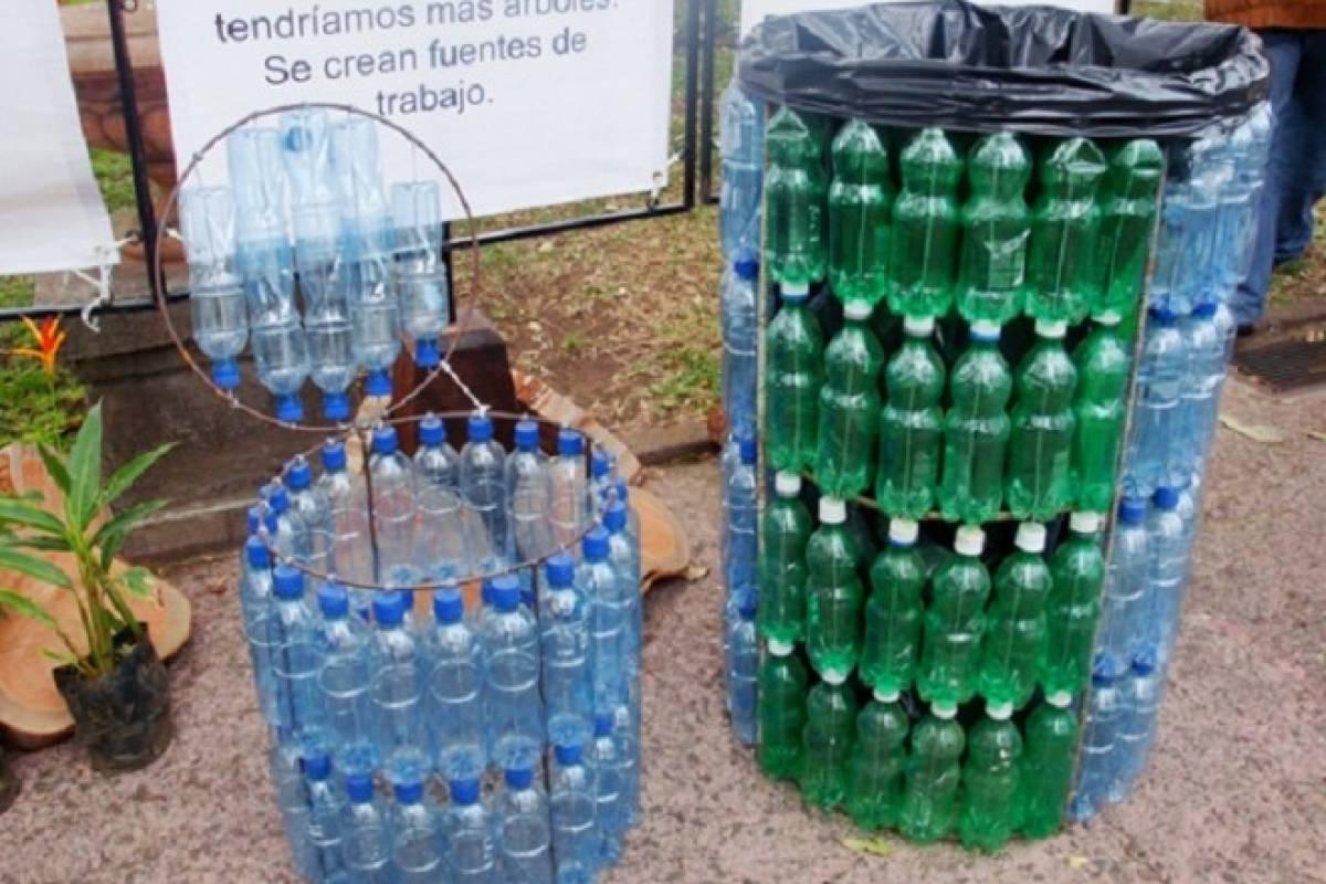 Hazlo Tu Mismo Crea Un Basurero Con Botellas Plasticas Veoverde