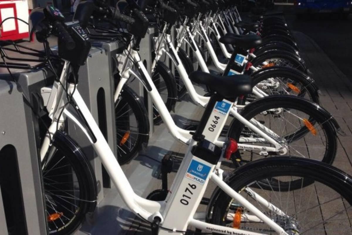 Se estrena el servicio de bicicletas compartidas en madrid for Viviendas compartidas en madrid