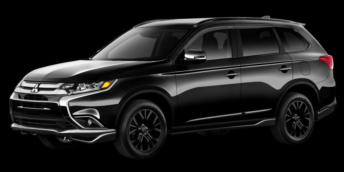 Mitsubishi da la bienvenida a su modelo Outlander Black Edition 2018