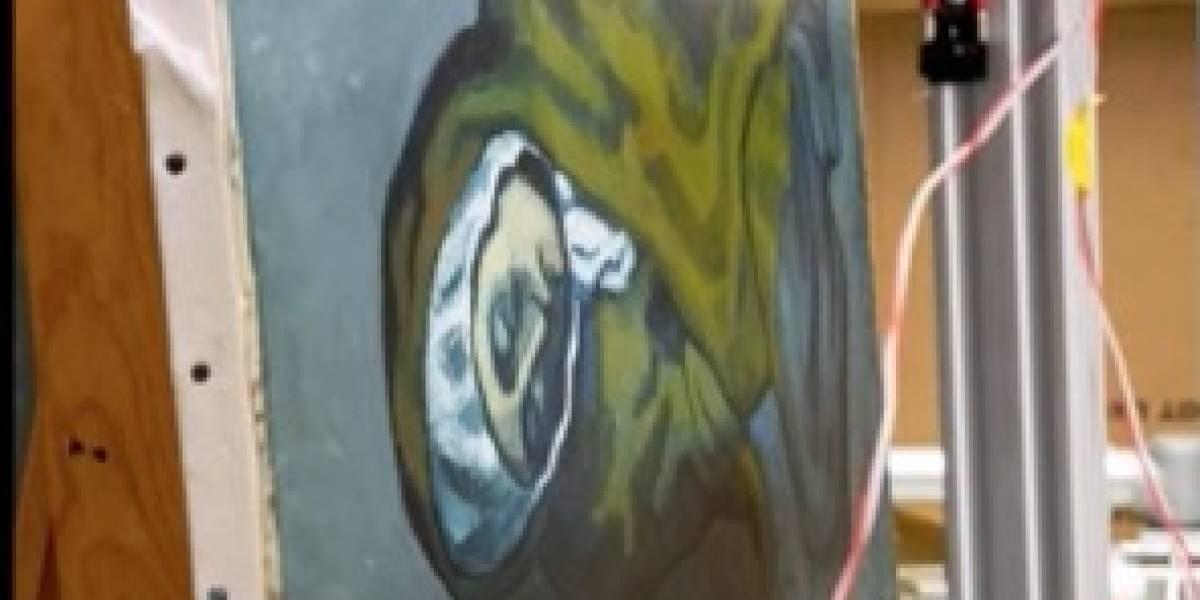 Descubren pintura oculta debajo de una obra de Picasso