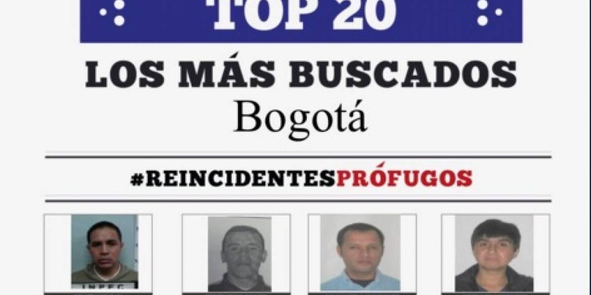 ¿Los ha visto? Estos son los delincuentes más buscados en Bogotá