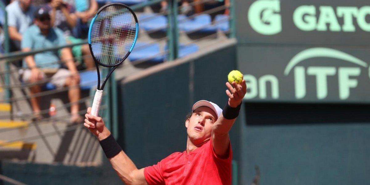 Nicolás Jarry da otro golpazo y está en los octavos de final del ATP de Río
