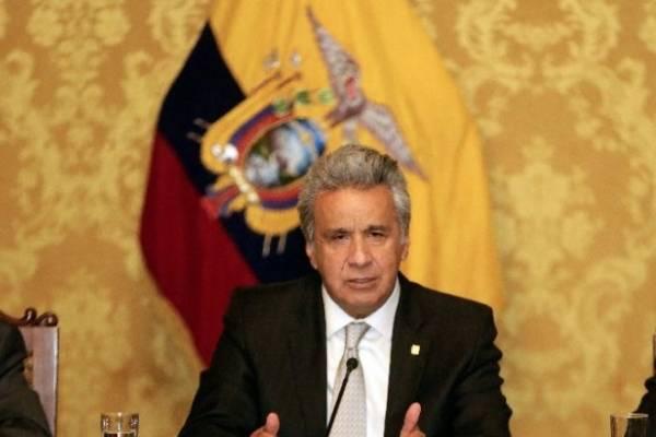 Lenín Moreno, presidente de la República