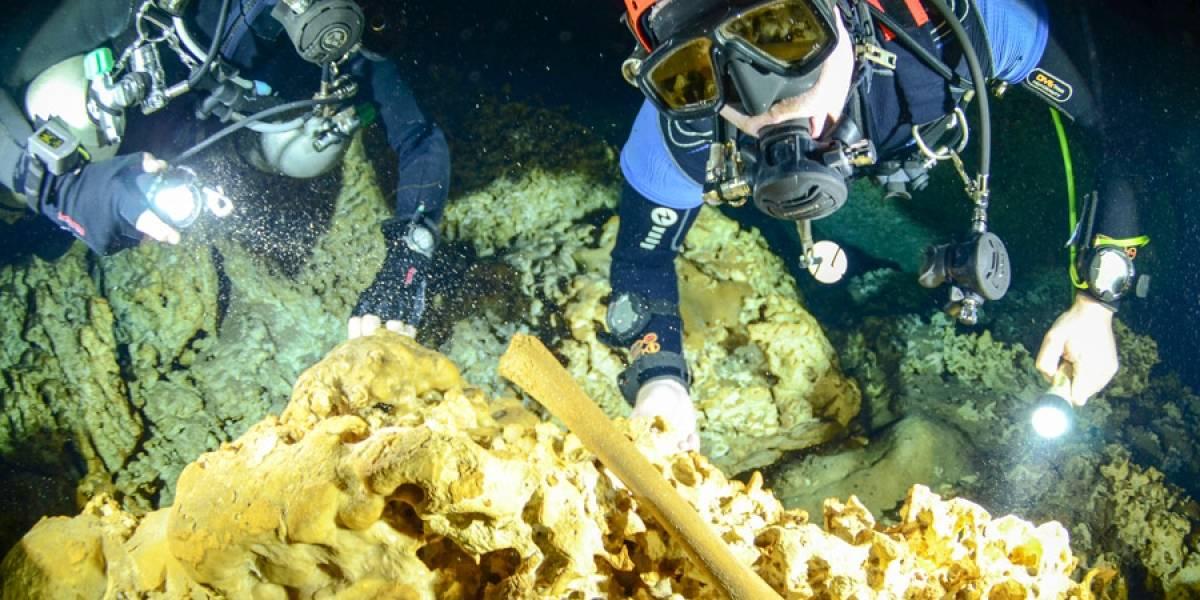 Contaminación amenaza sitio arqueológico submarino en México