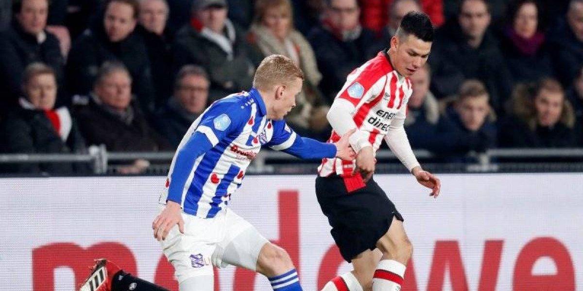 PSV apelará suspensión de tres juegos de Chucky Lozano
