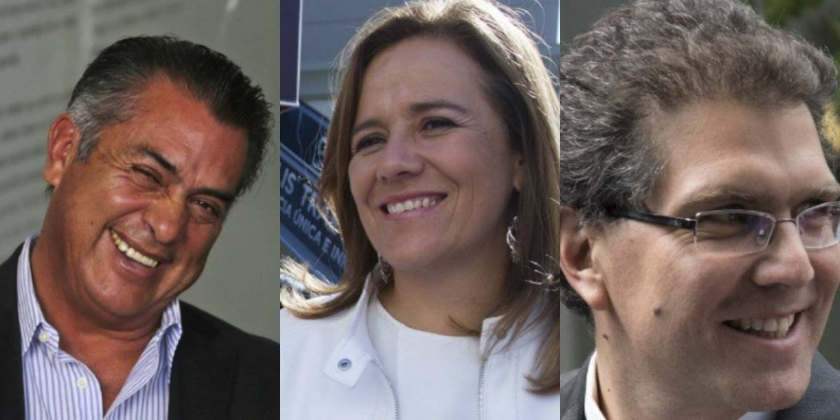Estos son los presidenciables que mantienen pública su 3 de 3