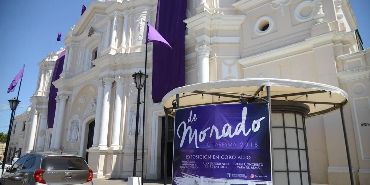 """Expo """"De Morado"""" y otras actividades en la parroquia de Santo Domingo"""