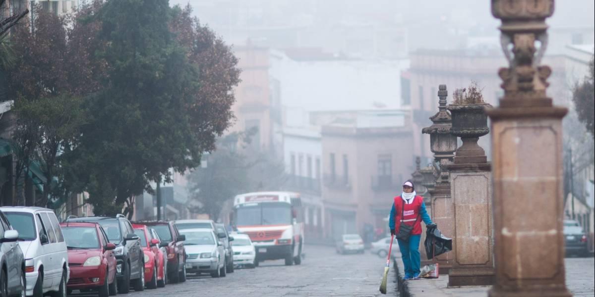 Frente frío provocará lluvias en el norte del país