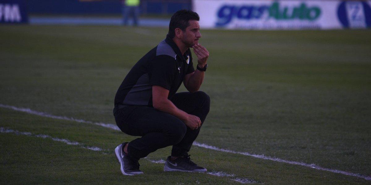 """Ronald González: """"El resultado no fue bueno, pero fue lo que merecimos""""."""