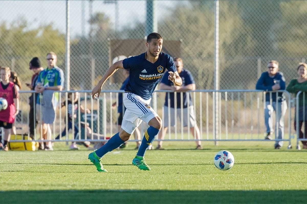 EL defensa estuvo con el Galaxy B, filial del equipo de la MLS.