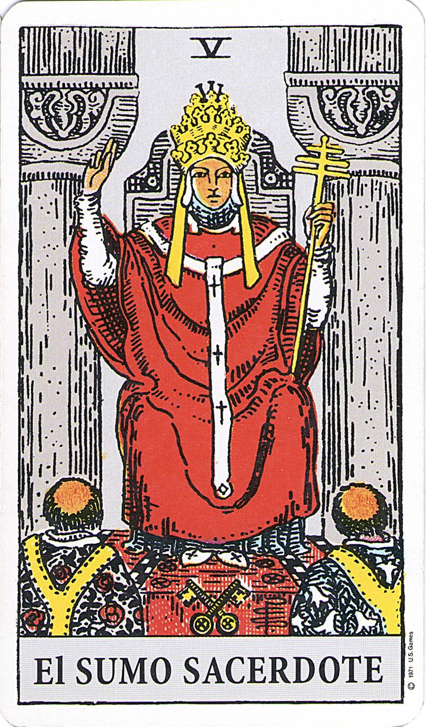 el sumo sacerdote tarot