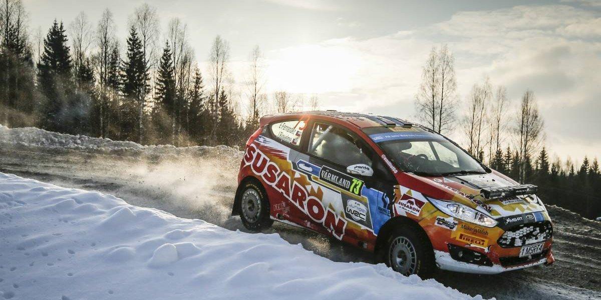 Gran desempeño de Emilio Fernández en Rally de Suecia
