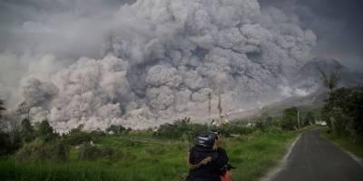 Erupción en Indonesia