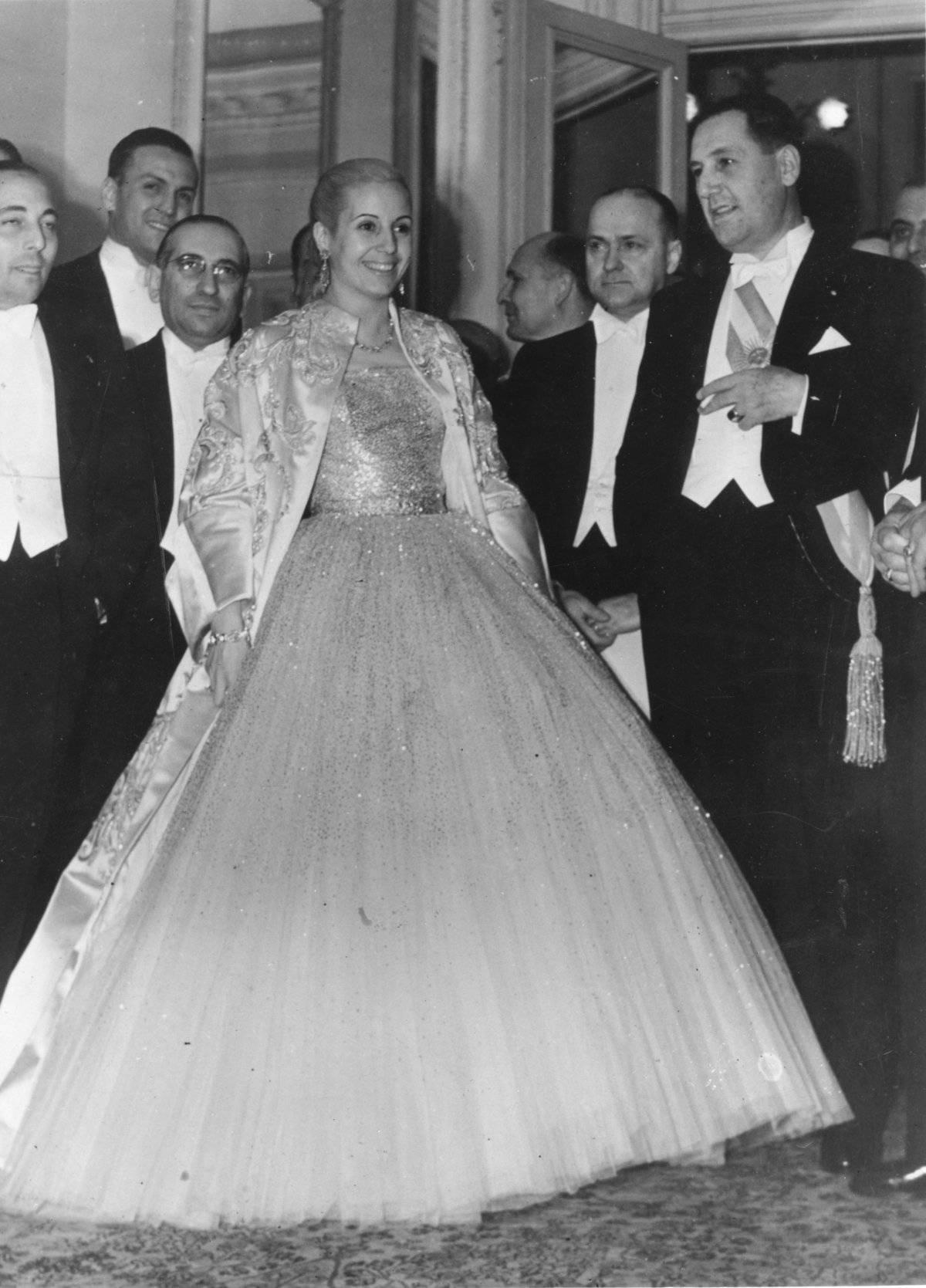 Juan Perón y Evita Perón