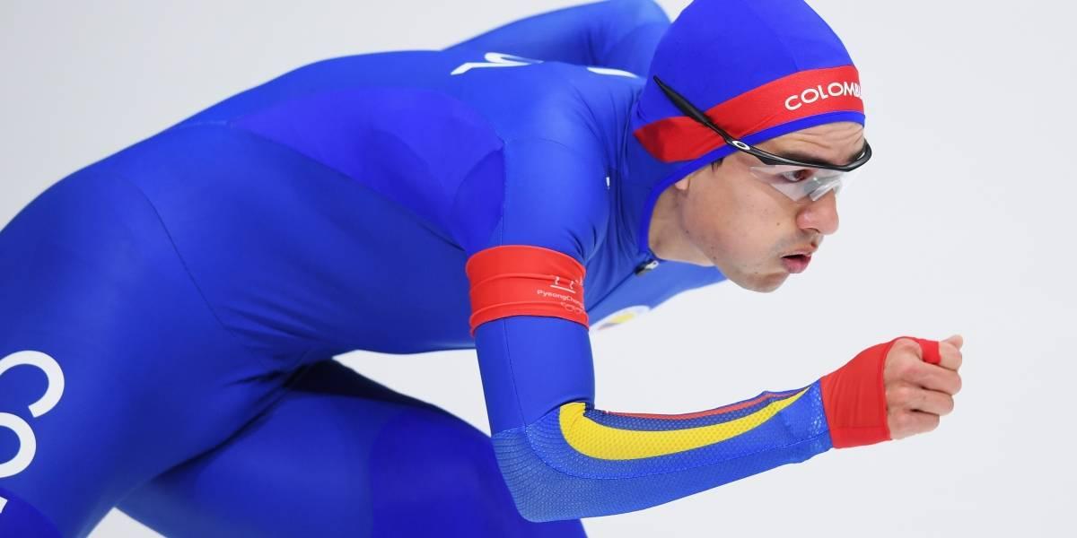 Pedro Causil, a medio segundo de una medalla en los Juegos Olímpcios de Invierno