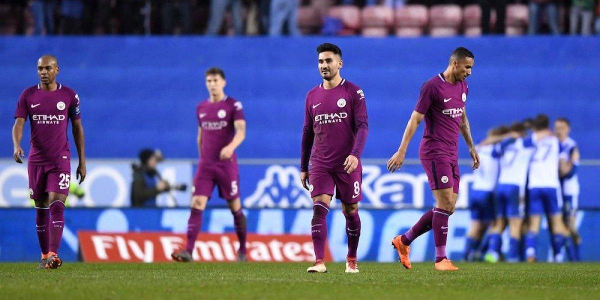 Manchester City es eliminado de la FA Cup por equipo de tercera división