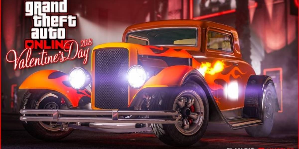 GTA Online celebra el Día de San Valentín con nuevo auto, descuentos y más