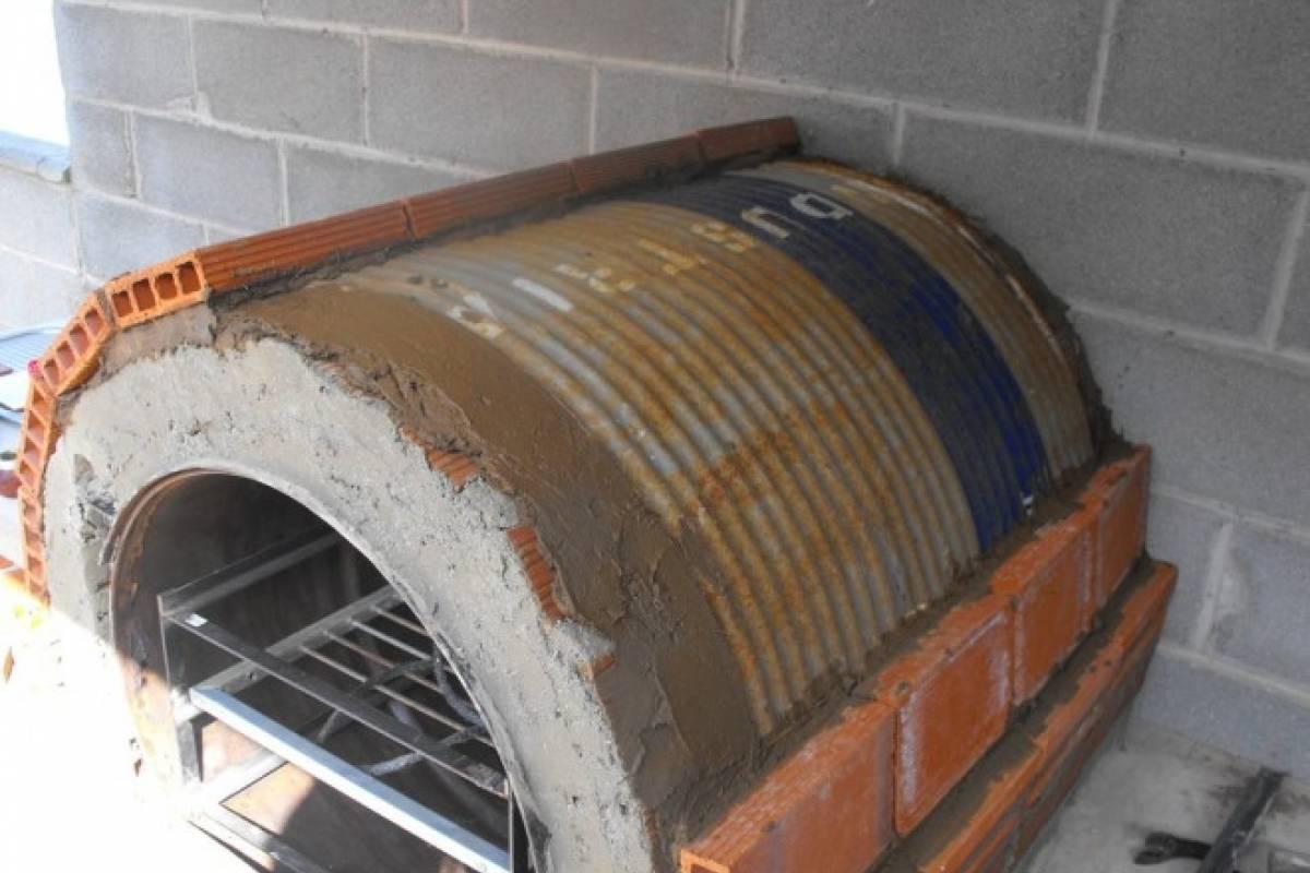 Taller de bioconstrucci n de hornos de tambor horizontal - Horno para casa ...