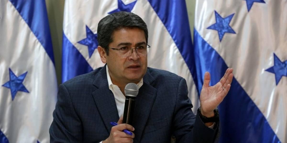 Presidente de Honduras llama a fortalecer instituciones anticorrupción