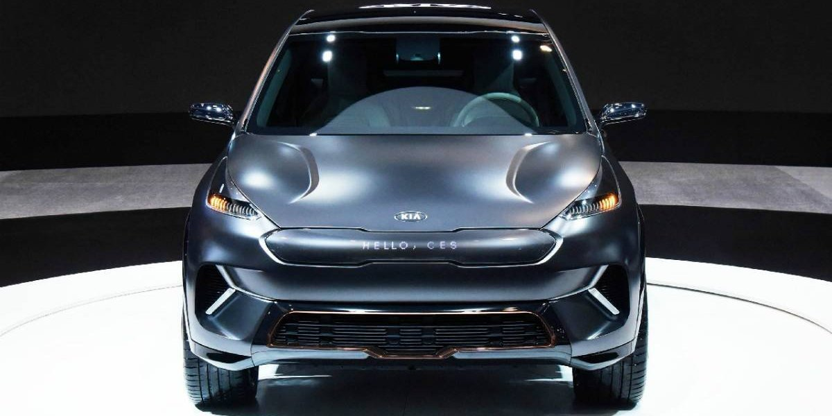 El conceptual Niro EV de Kia gana premio en el CES 2018