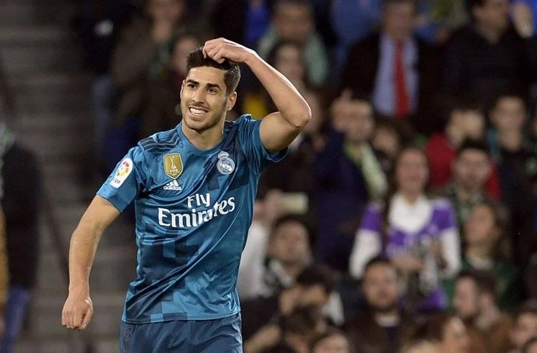 Gol de Marco Asensio contra el Real Betis