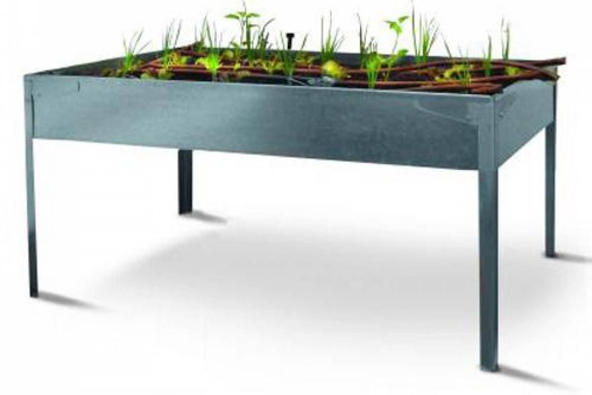 Eco gadget mesa de cultivo veoverde nueva mujer - Drenaje mesa de cultivo ...