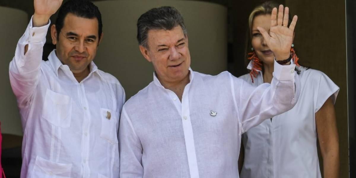 Presidente Jimmy Morales viajará a Colombia por temas de defensa, cultura y para una entrevista internacional