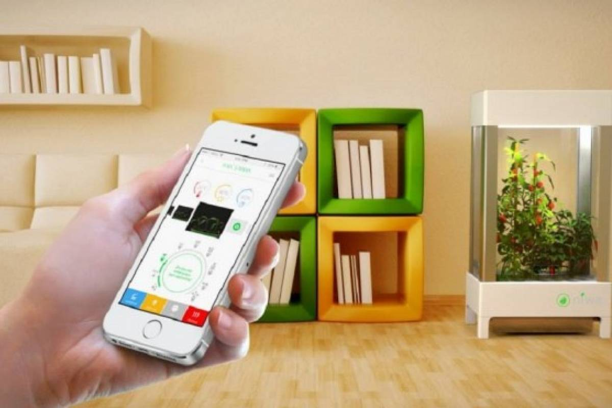 Niwa, la app que puede controlar un pequeño invernadero dentro de tu casa [Eco-Apps]